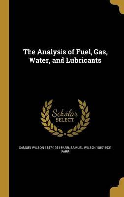 ANALYSIS OF FUEL GAS WATER & L