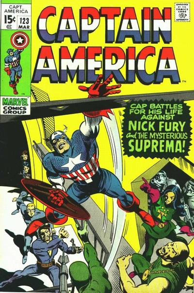 Captain America Vol.1 #123