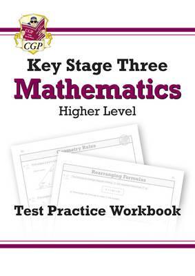 KS3 Maths Test Practice Workbook (with online edition) - Higher