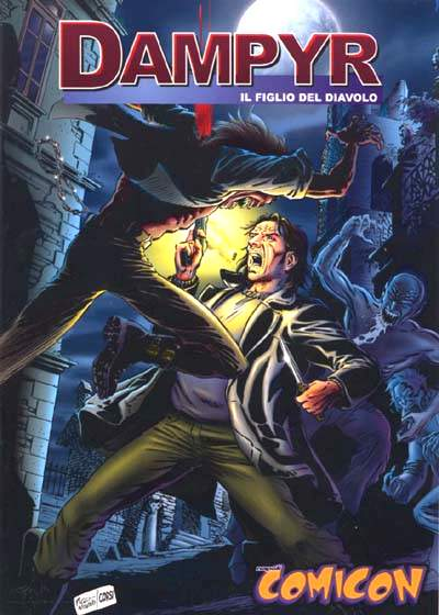 Dampyr - Napoli Comicon 2000