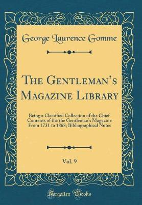 The Gentleman's Magazine Library, Vol. 9