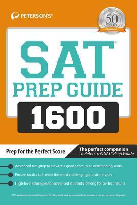 Peterson's SAT Prep Guide 1600