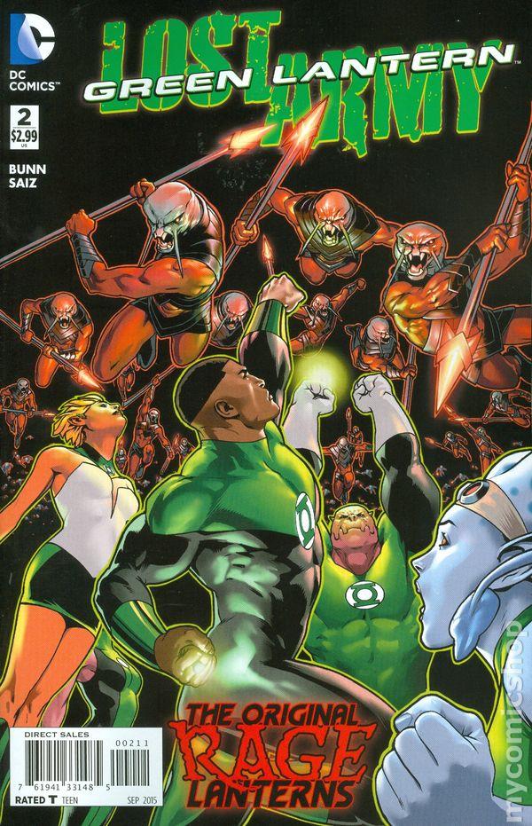 Green Lantern: Lost Army Vol.1 #2