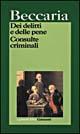 Dei delitti e delle pene - Consulte criminali