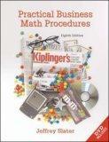 Practical Business Math Procedures w/ DVD, Business Math Handbook, and Wall Street Journal insert