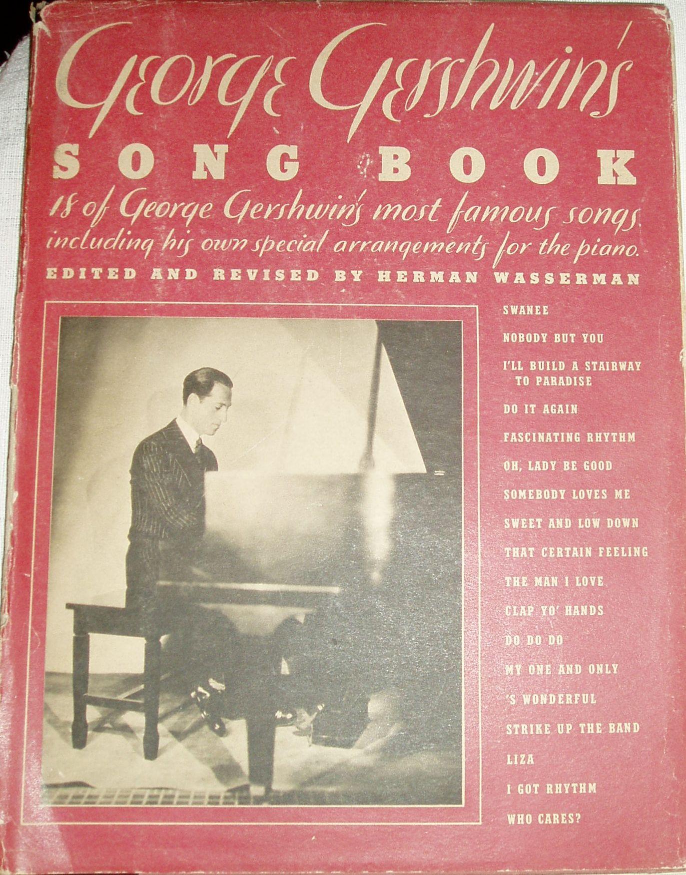 George Gershwin's song book