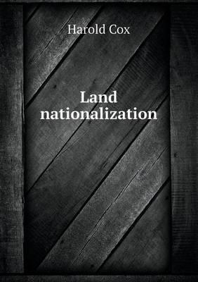 Land Nationalization