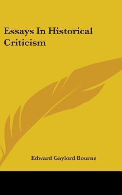 Essays In Historical Criticism
