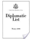 Diplomatic List