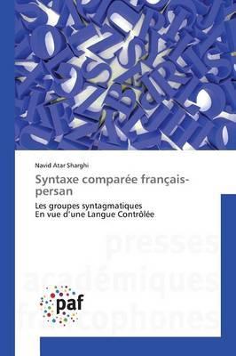 Syntaxe Comparée Français-Persan