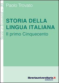 Storia della lingua ...