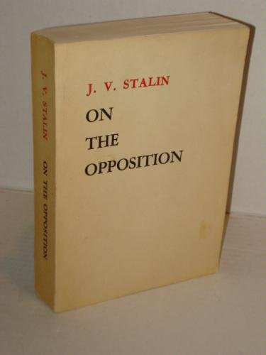 On the Opposition
