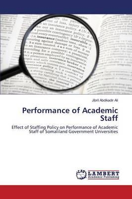 Performance of Academic Staff
