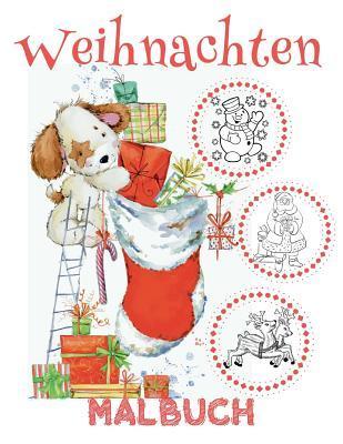 Weihnachten Malbuch 4 Jahre Malbuch 4 Jährige
