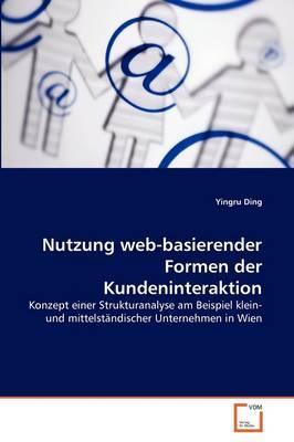 Nutzung web-basierender Formen der Kundeninteraktion