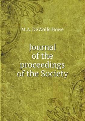 Journal of the Proceedings of the Society