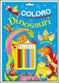Coloro i dinosauri. Ediz. illustrata