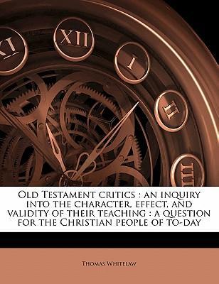 Old Testament Critics