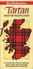 Collins Tartan Map of Scotland