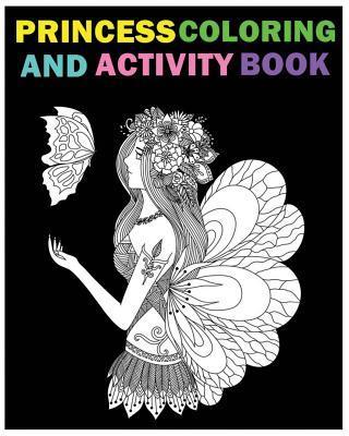 Princess Coloring and Activity Book