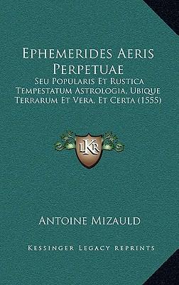 Ephemerides Aeris Pe...