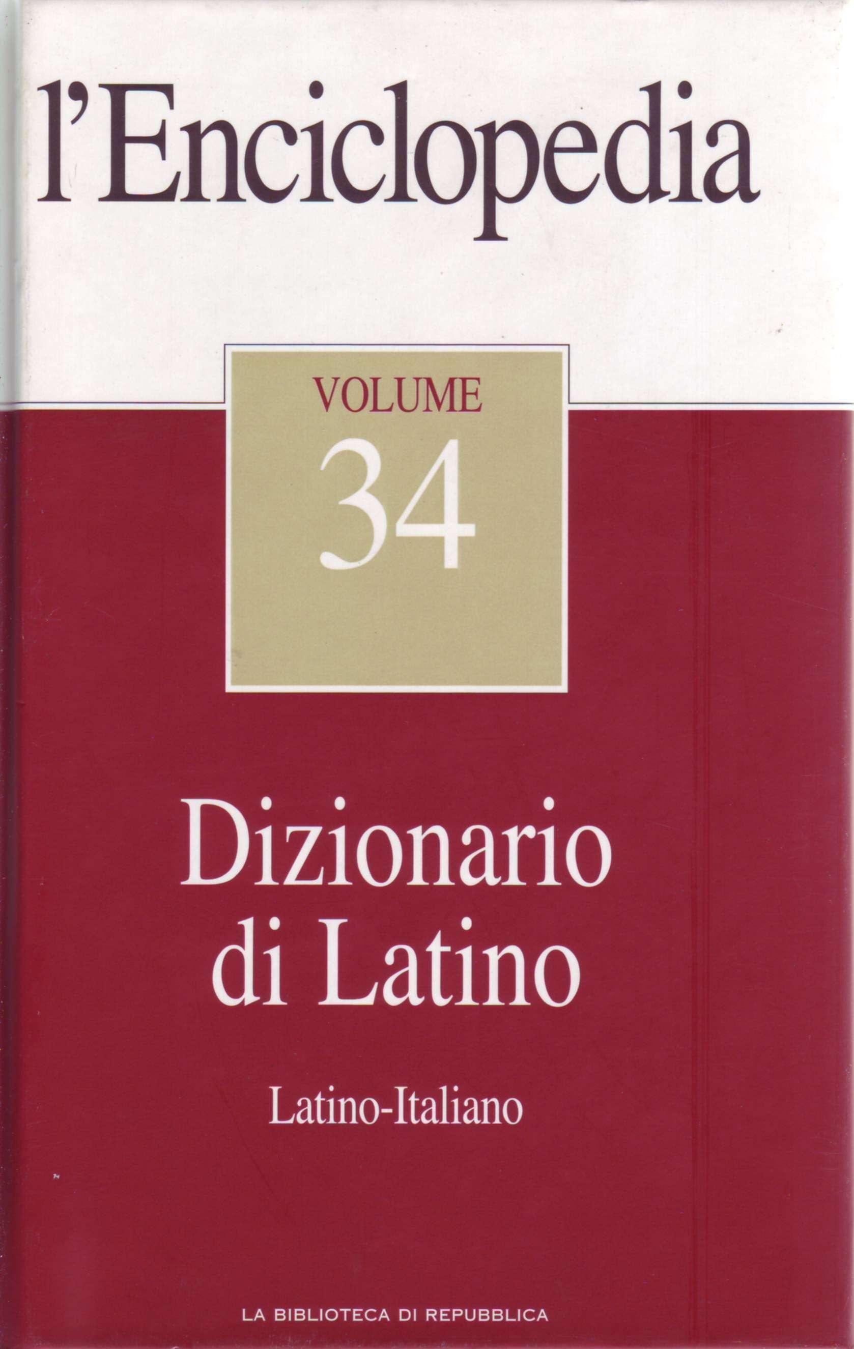 L'Enciclopedia - Vol. 34 - Dizionario di Latino 1