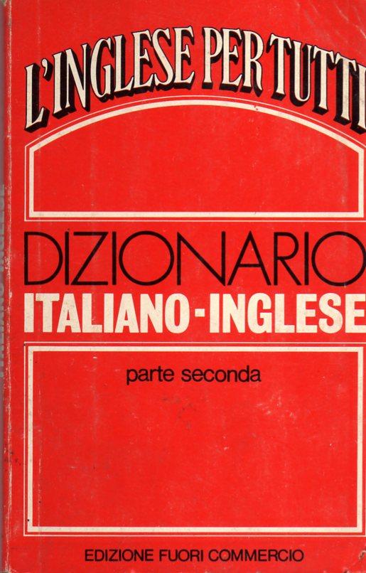 Dizionario italiano - inglese
