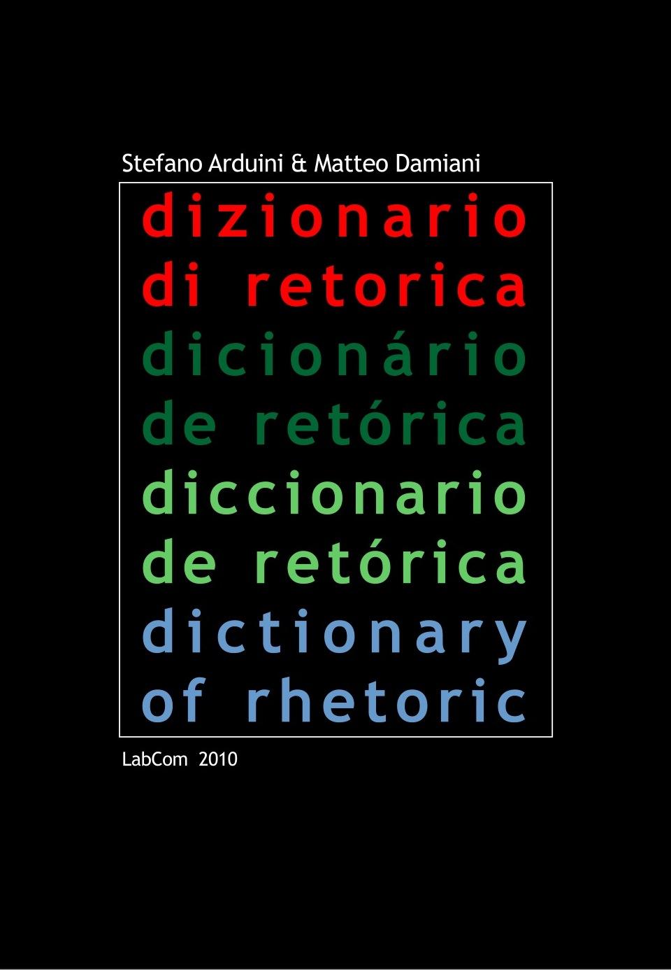 Dizionario di retorica