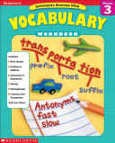 Scholastic Success With Vocabulary