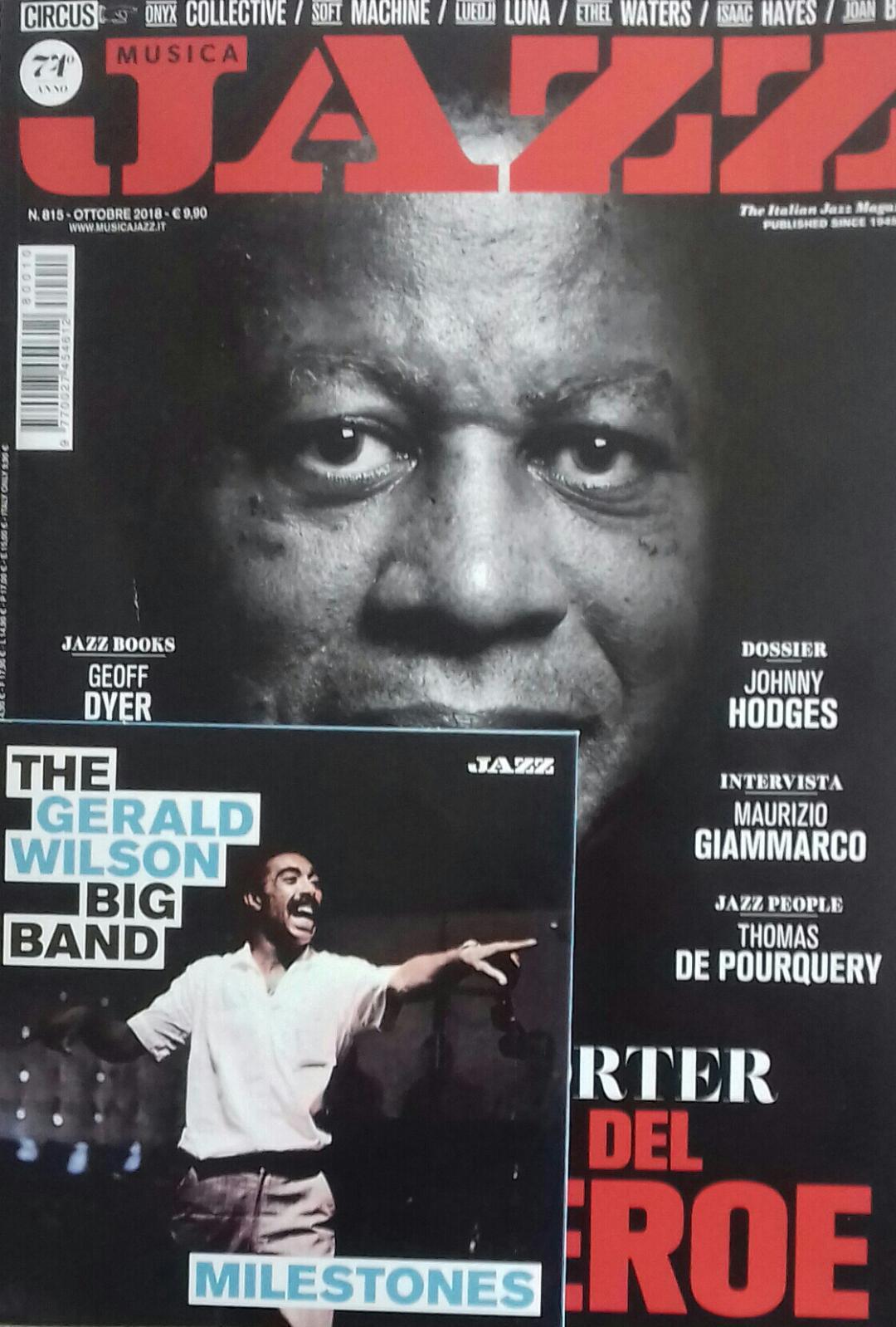 Musica Jazz n. 815 (ottobre 2018)