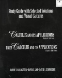 Study Guide With Selected Solutions and Visual Calculus