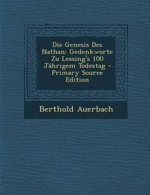 Die Genesis Des Nathan
