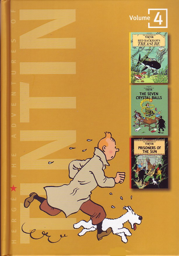 The Adventures of Tintin - Red Rackham's Treasure / The Seven Crystal Balls / Prisoners of the Sun