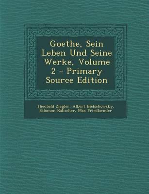 Goethe, Sein Leben U...