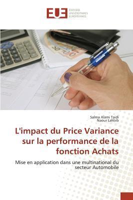 L'Impact du Price Variance Sur la Performance de la Fonction Achats