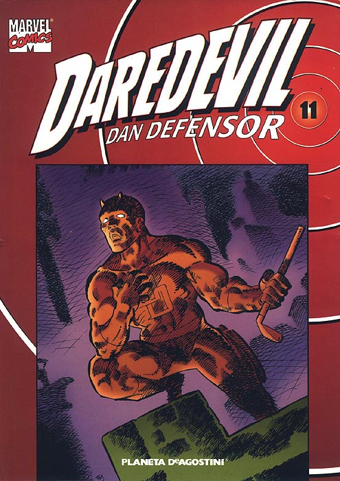 Coleccionable Daredevil/Dan Defensor Vol.1 #11 (de 25)