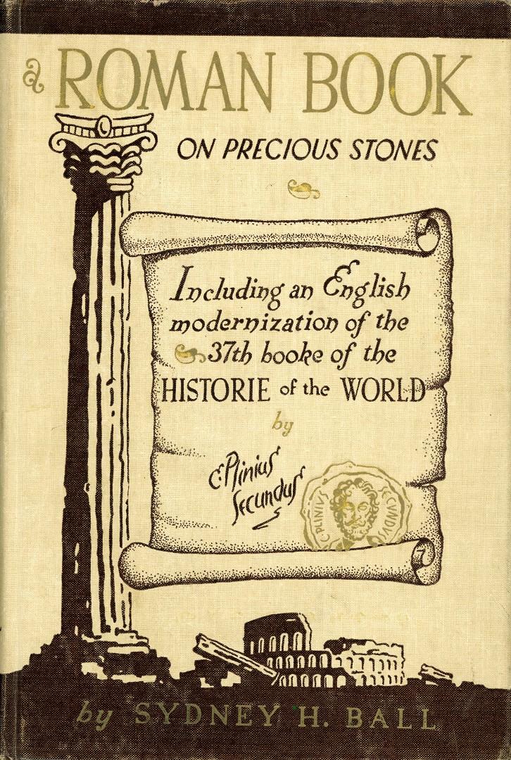 A Roman Book on Precious Stones