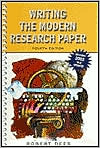 Writing the Modern Research Paper MLA Update, Fourth Edition