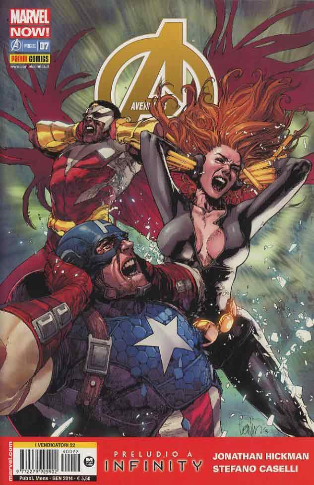 Avengers n. 22