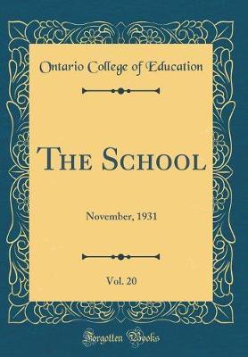 The School, Vol. 20