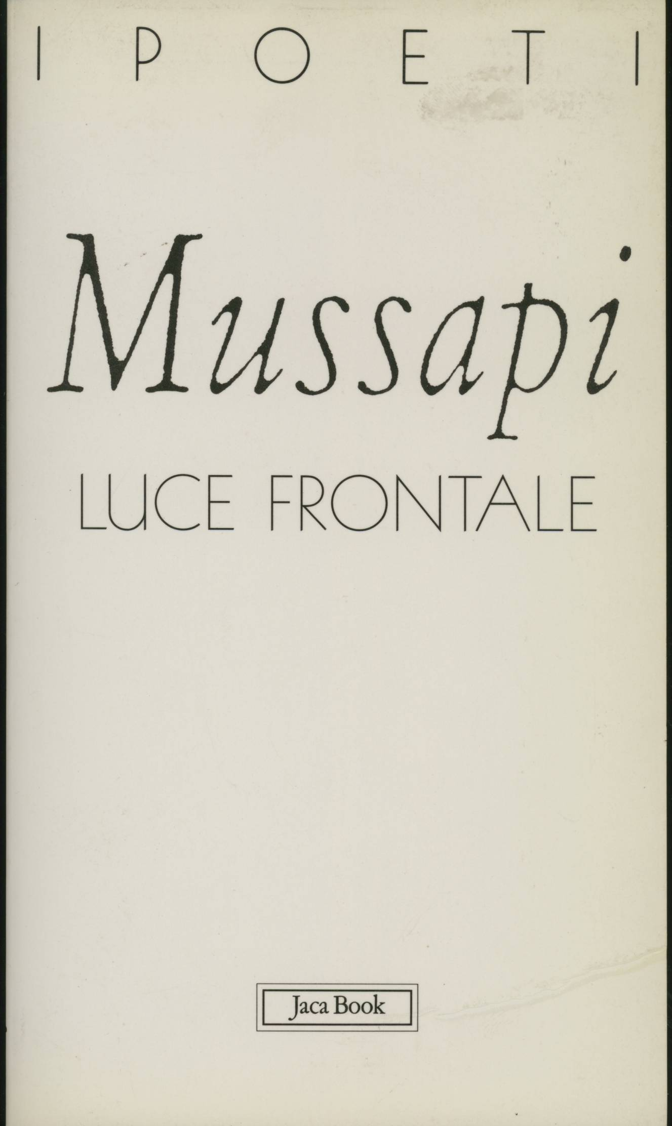 Luce frontale