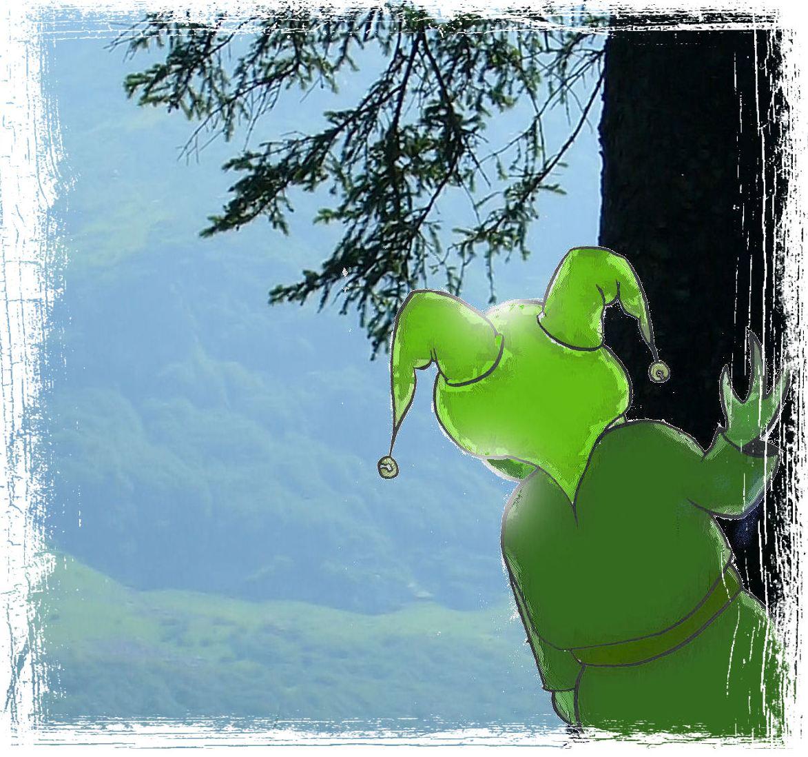 Il piccolo folletto verde