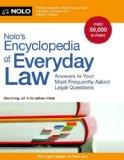 Nolo's Encyclopedia of Everyday Law
