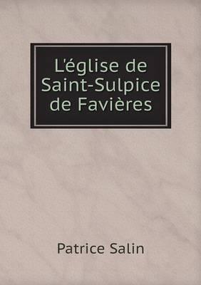 L'Eglise de Saint-Sulpice de Favieres