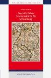 Geschichtliches Ortsverzeichnis für Schaumburg