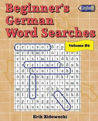 Beginner's German Word Searches
