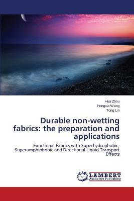 Durable non-wetting fabrics