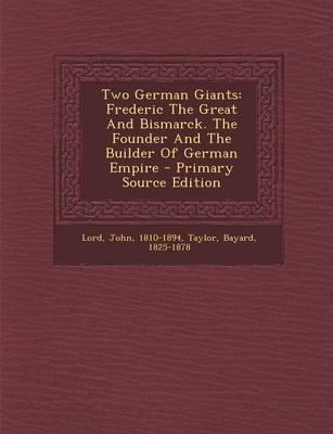 Two German Giants