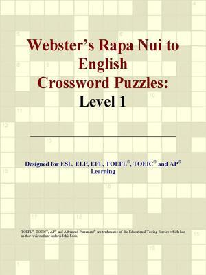 Webster's Rapa Nui to English Crossword Puzzles