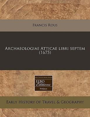 Archaeologiae Attica...